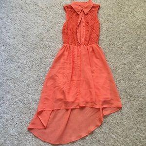 Flowy button up dress